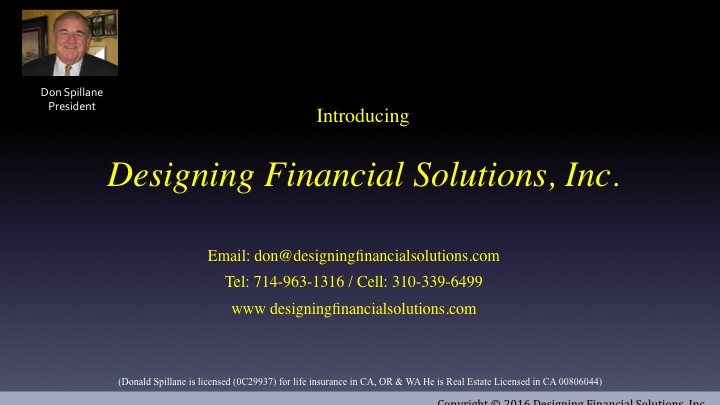 About Designing Financial Solutions